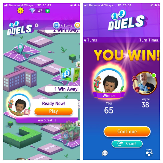 duel scrabble go