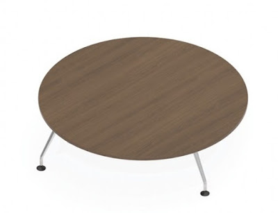 large round conference table