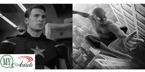 Captain America,Spider-Man,Marvel