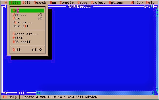 Creating file in Turbo C++ ~ C++ Programming Tutorial for