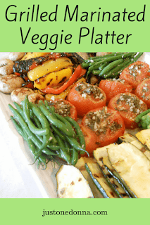 Grilled Marinated Vegetable Platter