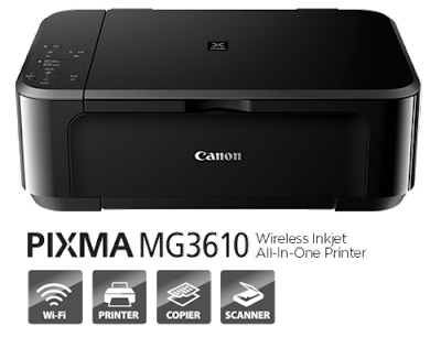 Canon PIXMA MG3610 Driver & Software Download