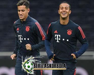 Thiago Berharap Bayern München Pertahankan Coutinho
