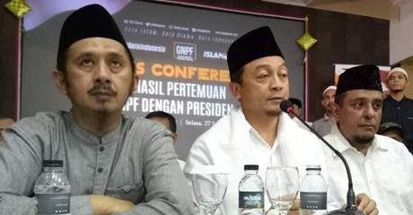 Sebelum Bertemu Jokowi, GNPF MUI Koordinasi ke Habib Rizieq, Bachtiar Nasir: Kami Tak Meminta, Tapi Menggagas