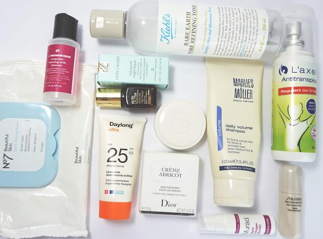 Aufgebrauchte Kosmetik - Juni 2016 Kiehl's, Ole Henriksen, Dior, Murad, Shiseido