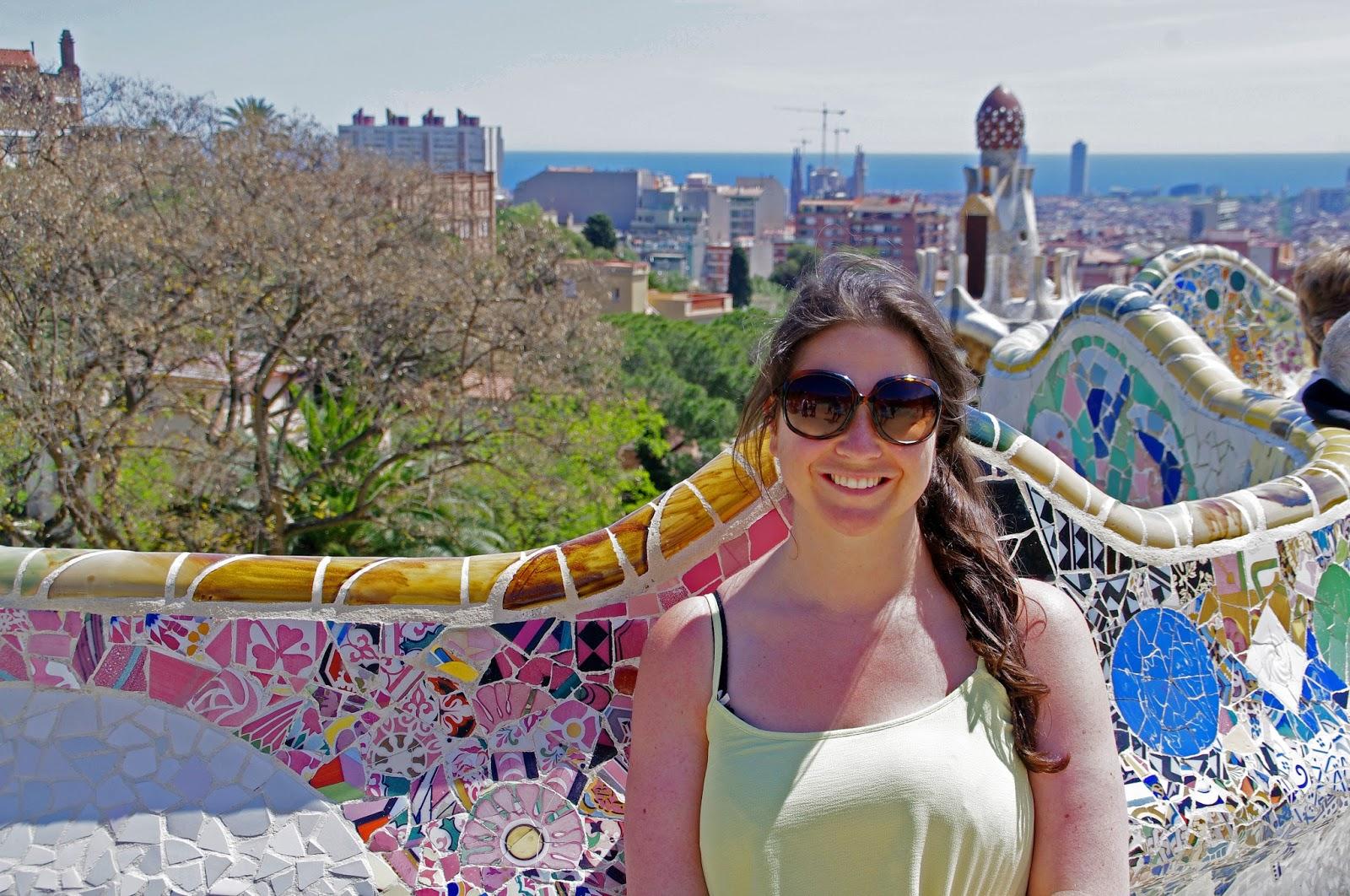 Simone at Park Guell Barcelona