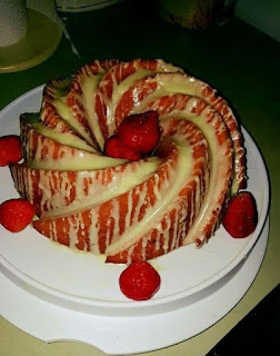Strawberry Lemonade Pound Cake