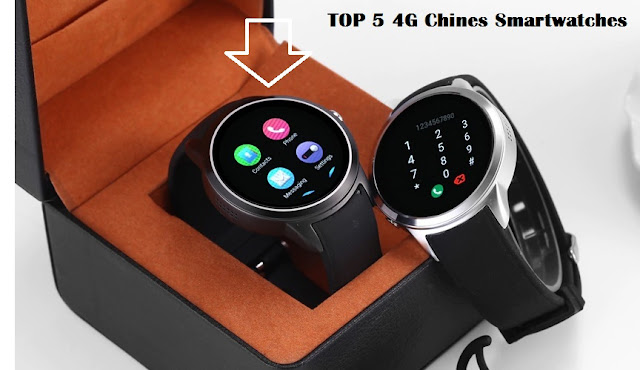 TOP 5 4G Chinese Smartwatches 2018/2019