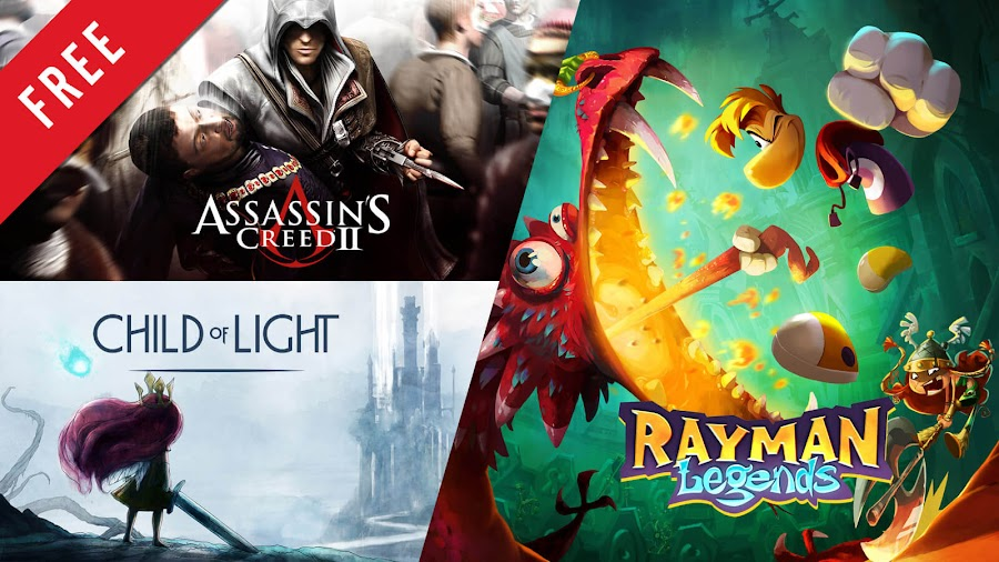 assassin's creed 2 child of light rayman legends free pc game ubisoft store action adventure uplay