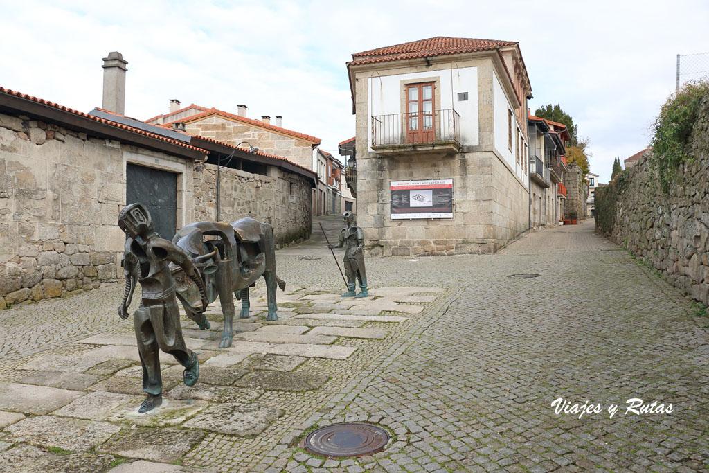 Qué ver en Allariz: Escultura de la Festa do Boi