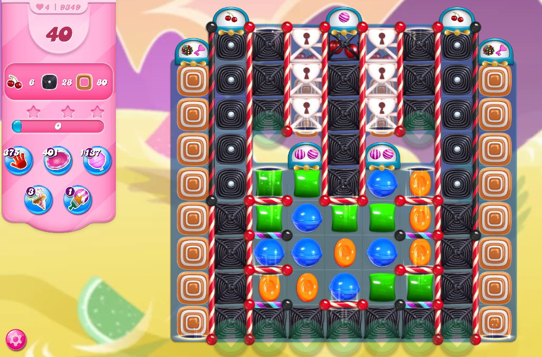 Candy Crush Saga level 9349