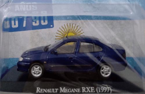 Renault Megane RXE 1997 1:43 autos inolvidables argentinos 80 90
