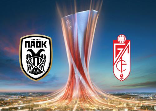PAOK vs Granada -Highlights 10 December 2020