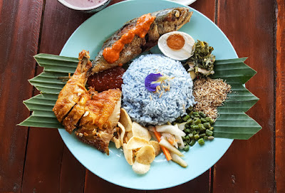 Nasi Kerabu Balai Bomba