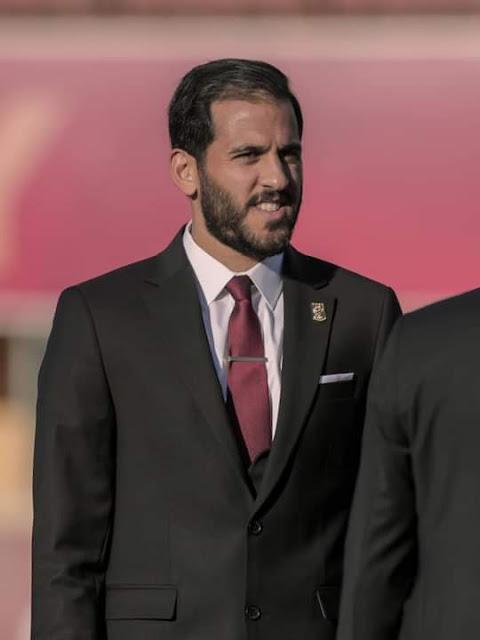 مروان محسن فى جلسة تصوير الأهلى لكأس العالم للأندية 2021