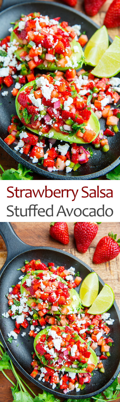 Strawberry And Avocado Salsa Recipe — Dishmaps