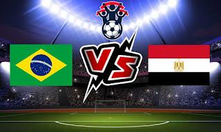 البرازيل و مصر بث مباشر
