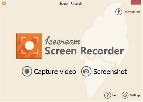 Software Icecream Screen Recorder