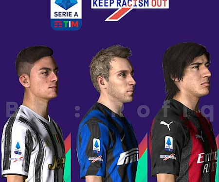 PES 2017 New Badge Serie A 2020/2021