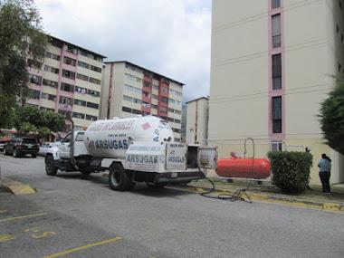 La Nueva Mérida Gas realizó operativo especial de suministro de gas a residencias de Las Américas