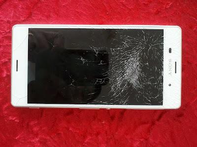 Sony Xperia Z3 LCD rachado
