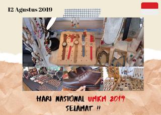 Selamat Hari Nasional UMKM - 12 Agustus 2019