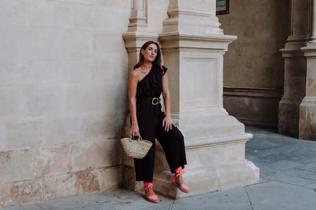 Fashion South con espadriles fluor de Inma Vera