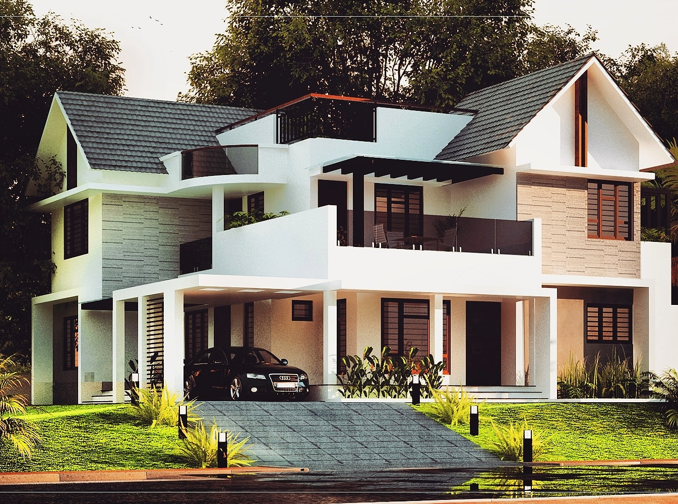 build your own virtual house 2300  sq ft  4 bed room residence