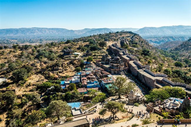 Second Longest wall in the world at Kumbhalgarh Fort