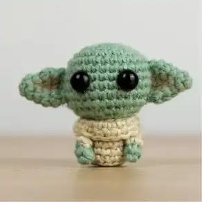 Baby Yoda a Crochet