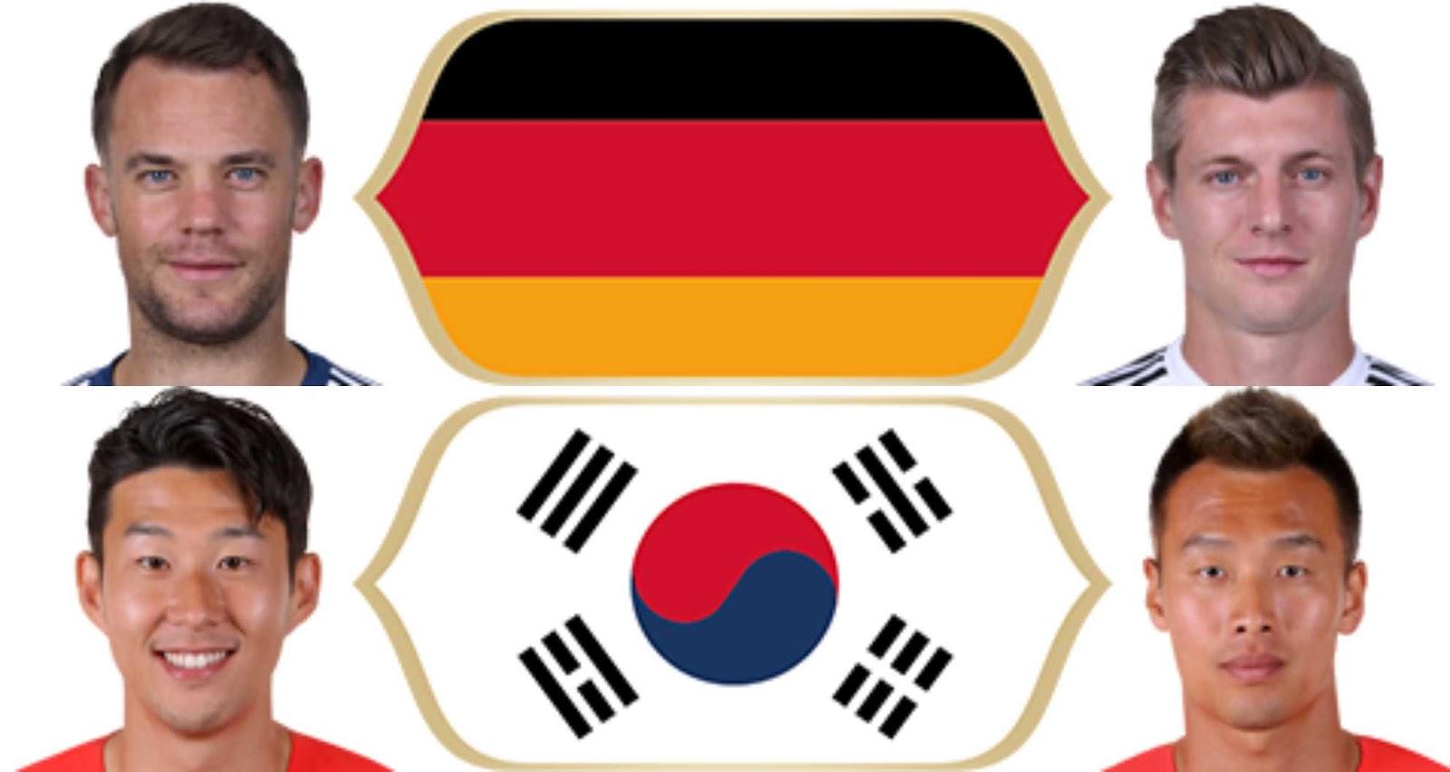 PES 2018 Germany, Korea World Cup 2018 Minifaces