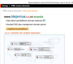 Mengamankan affiliate link dengan domain co.cc