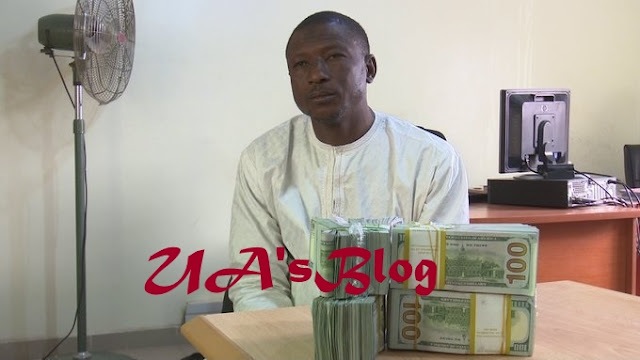 Money Laundering: EFCC Arressts Man With $207,000 At Kano Airport