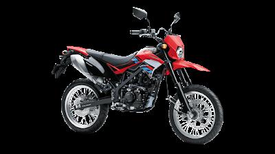 Warna dan Spesifikasi Kawasaki D-Tracker