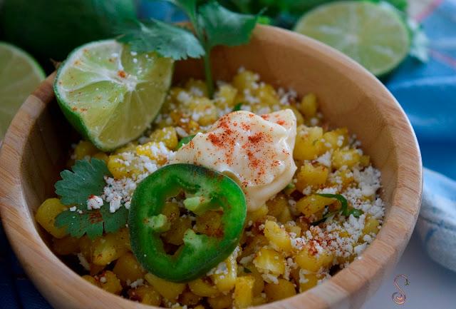 Esquites, receta tradicional mexicana