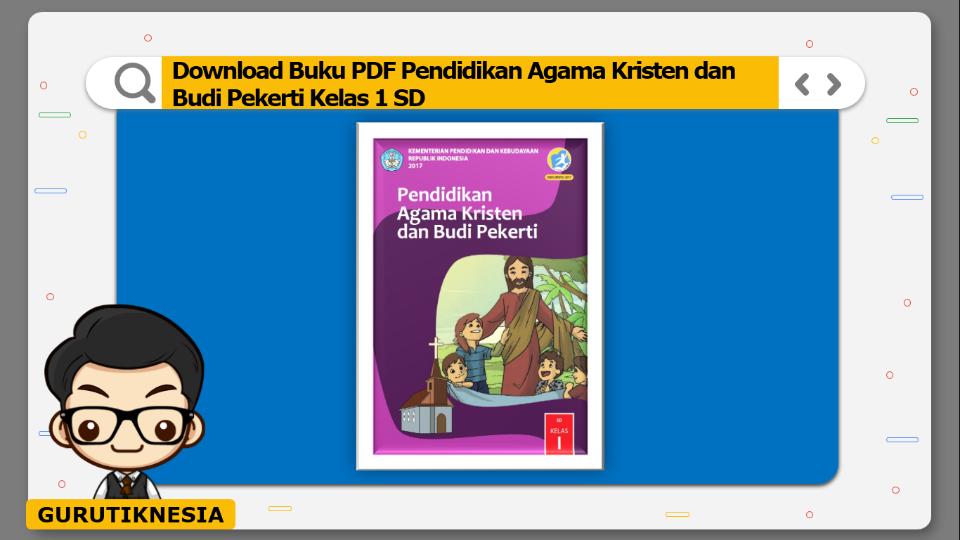 download buku pdf pendidikan agama kristen dan budi pekerti kelas 1 sd