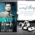 Book Blitz - Excerpt & Giveaway - Hockey Hunk by Kat Obie