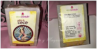 jabón ecobeauty de coco