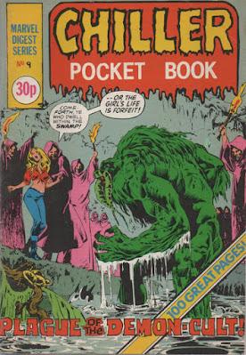 Chiller pocket book #9, Man-Thing
