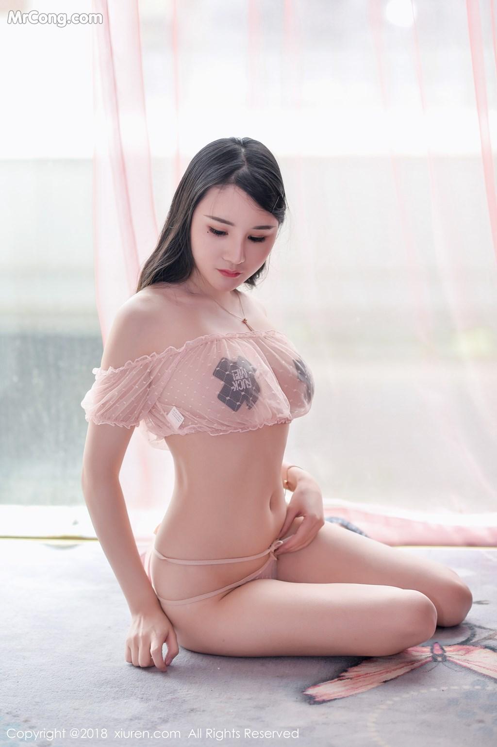 Image XIUREN-No.1136-Miki-MrCong.com-002 in post XIUREN No.1136: Người mẫu Miki米雪儿 (39 ảnh)