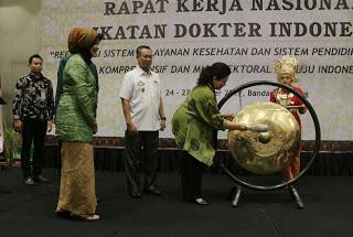 Menteri Kesehatan Puji Gerekan Masyarakat  Sehat Lampung
