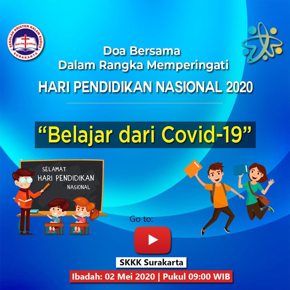 Doa Bersama SKKK Surakarta - Hari Pendidikan Nasional 2020
