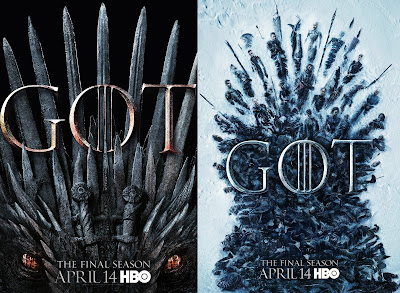 Game of Thrones Season 8 Teaser One Sheet Television Posters