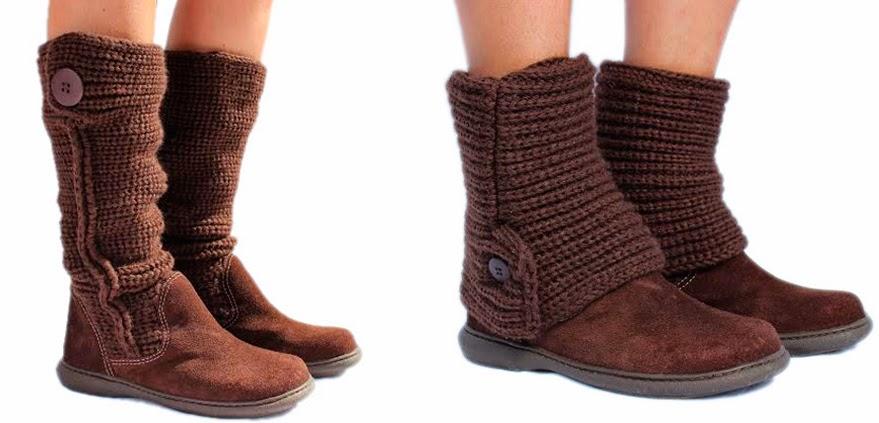 b31770d27 anne makeup®: a bota de tricô da designer andreia nunes