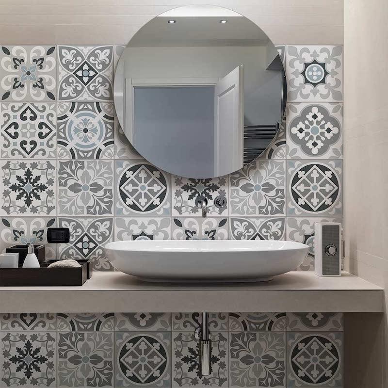 Papel pintado mosaico