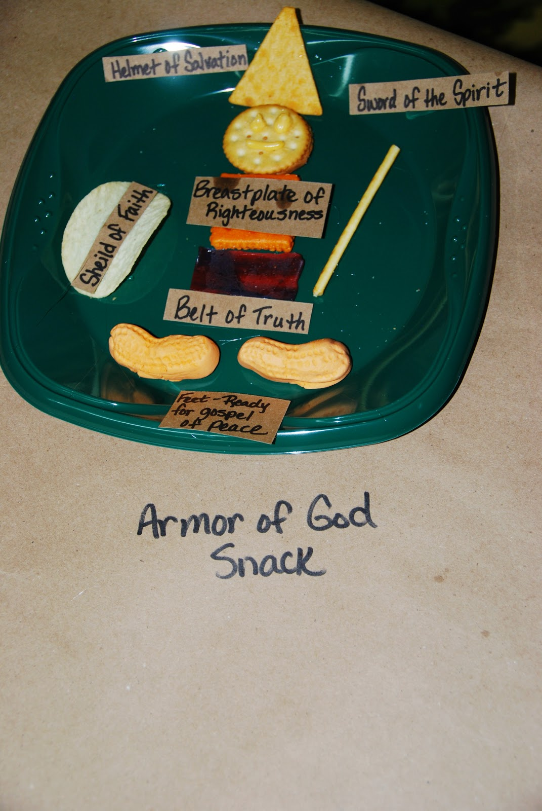 Life S A Bowl Of Cherries Armor Of God Snack Craft