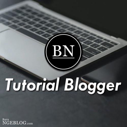 Baru Ngeblog