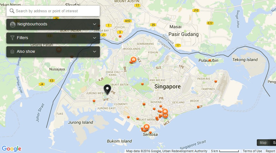 KidsSTOP Singapore Map Tourist Attractions in Singapore – Singapore Tourist Map