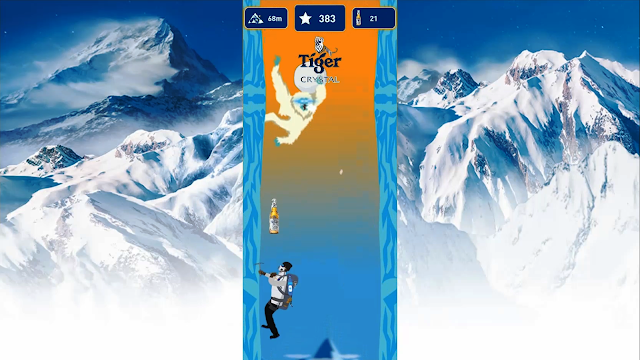 Tiger Crystal Mountain Climber Challenge, hosted by Harvinth Skin