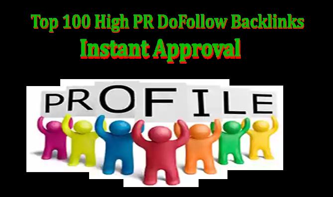 What is High PR DoFollow Backlinks? Top 100 High PR DoFollow Backlinks Site List with instant approval,  Top 100 High PR DoFollow Backlinks Sites List  Permanent DoFollow Backlink, Dofollow Backlink Website Sites List, Best Web 2.0 Website